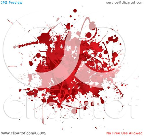 small resolution of royalty free rf clipart illustration of a red and white blood splatter background