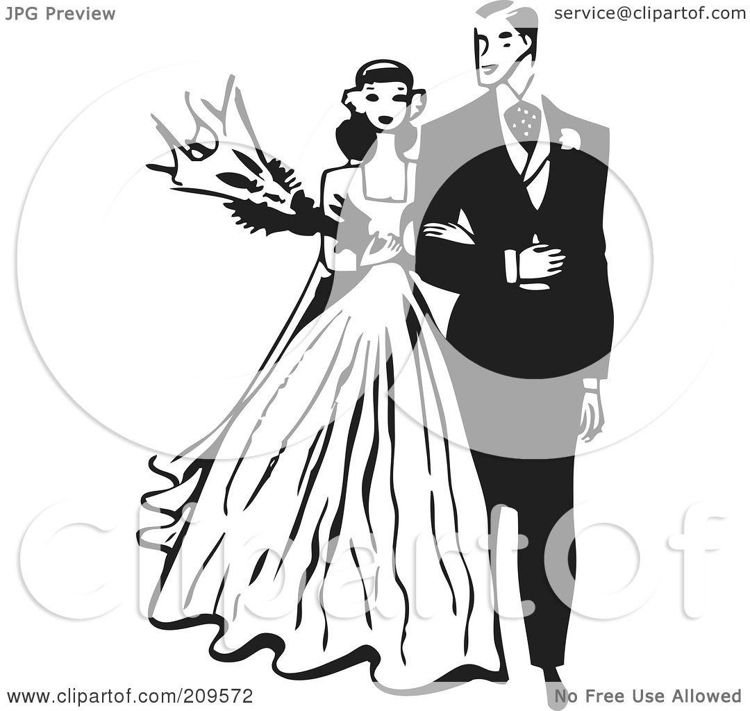 Royalty Free Rf Clipart Illustration Of A Retro Black