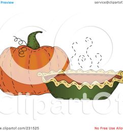 royalty free rf clipart illustration of a sewn folk art styled pumpkin and pumpkin pie by inkgraphics [ 1080 x 1024 Pixel ]