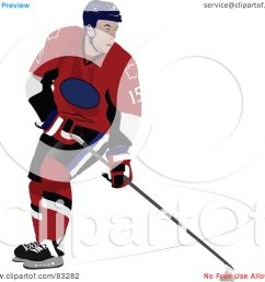 royalty free rf clipart illustration of a single ice hockey player by leonid [ 1080 x 1024 Pixel ]