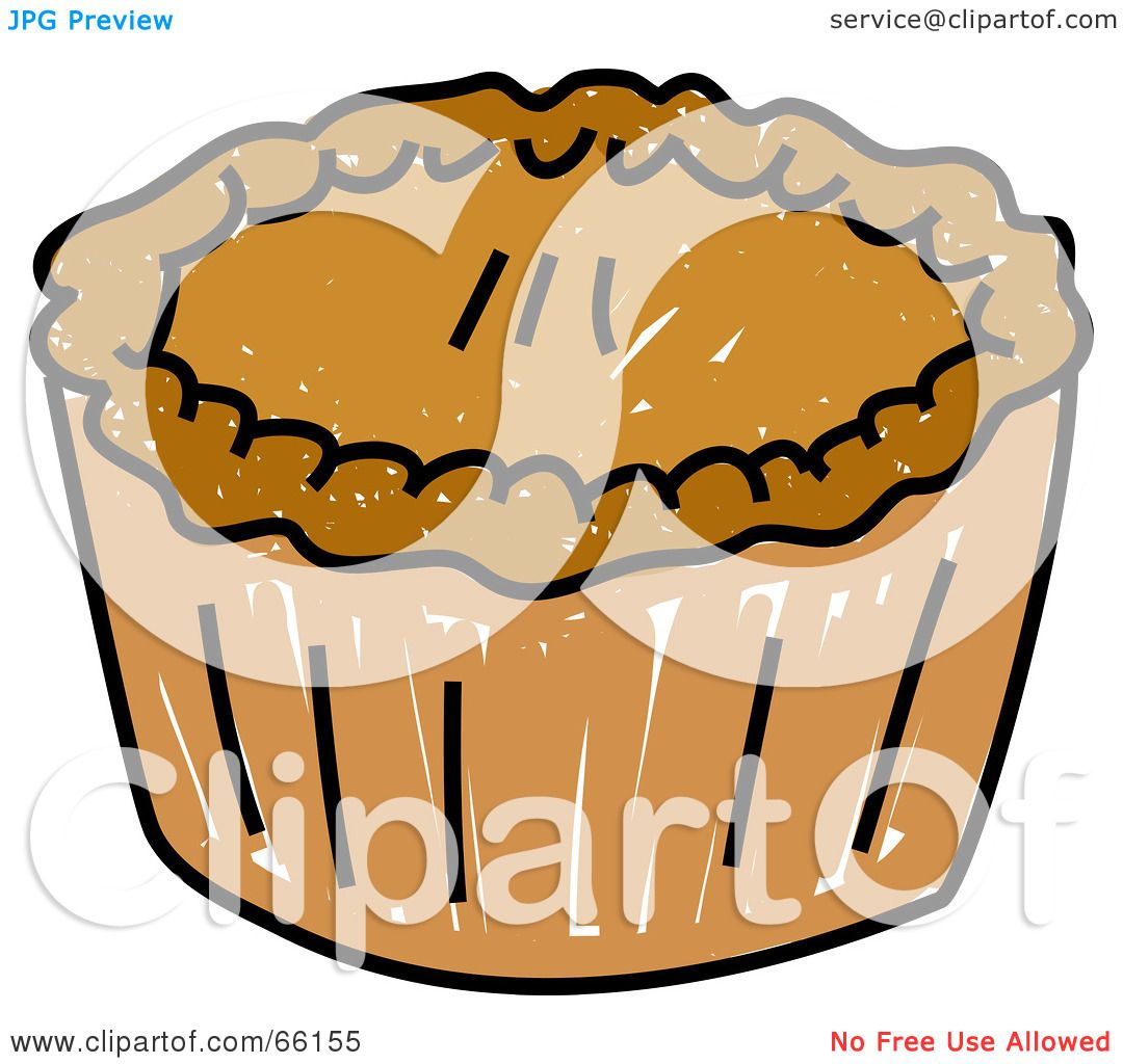 hight resolution of royalty free rf clipart illustration of a sketched pie with golden crust by