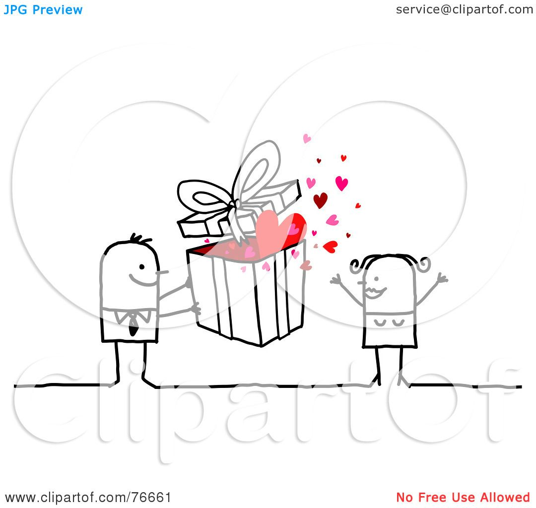 hight resolution of royalty free rf clipart illustration of a stick people character man giving a