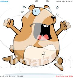 royalty free rf clipart illustration of a stressed hamster running by cory thoman [ 1080 x 1024 Pixel ]