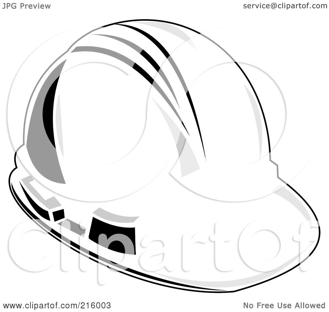 Royalty Free Rf Clipart Illustration Of A White Linemans