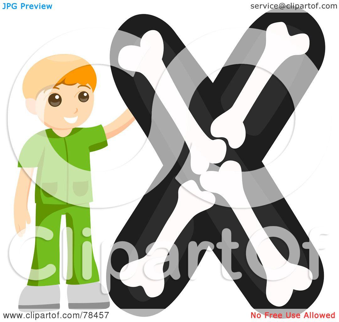 Royalty Free Rf Clipart Illustration Of An Alphabet Kid