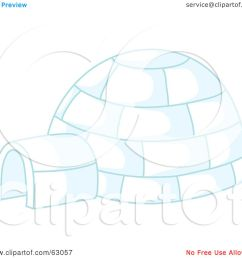 royalty free rf clipart illustration of an igloo with blue lighting by rosie [ 1080 x 1024 Pixel ]