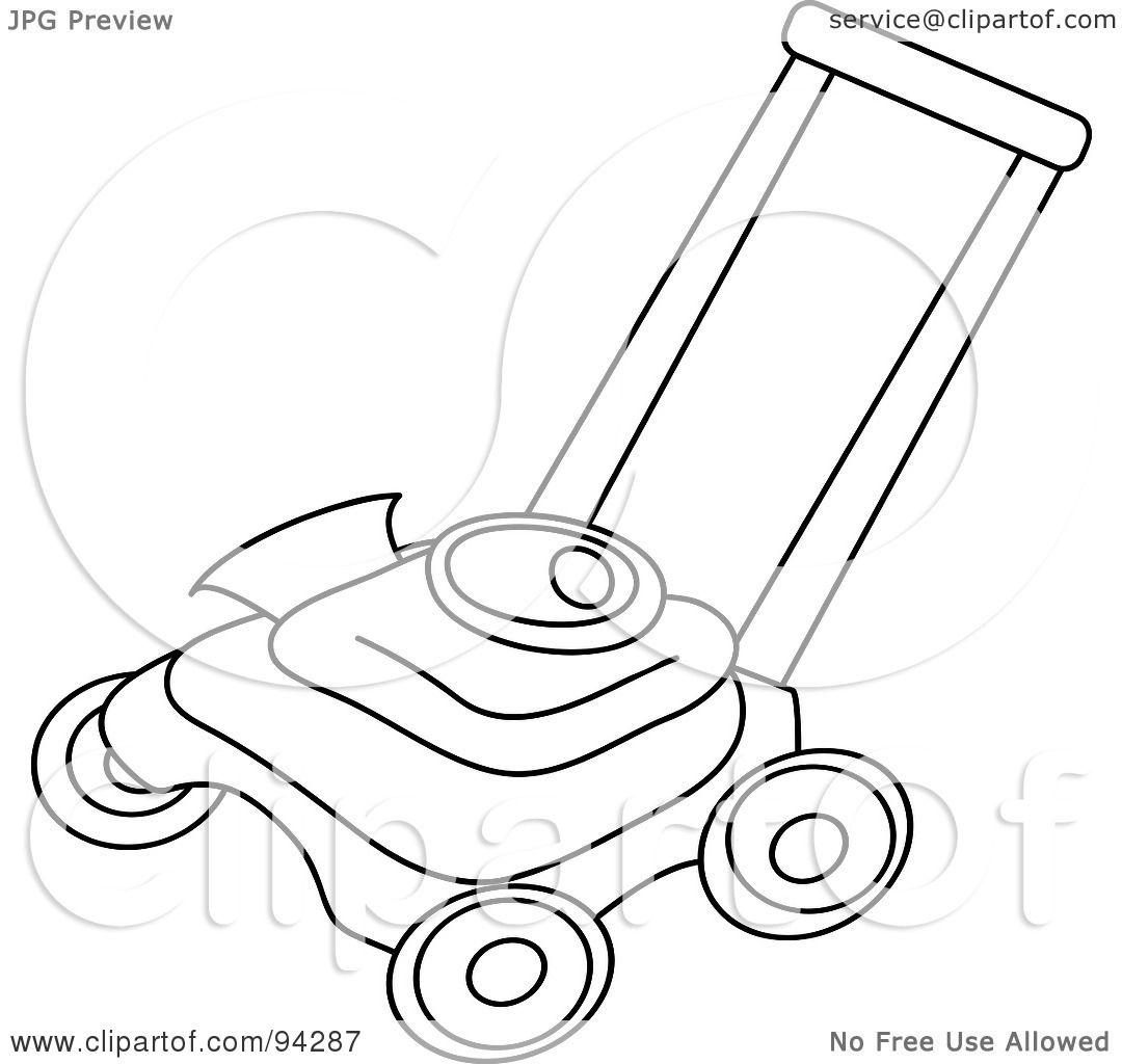 funny lawn mower