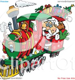 christmas train clipart royalty free rf clipart [ 1080 x 1024 Pixel ]