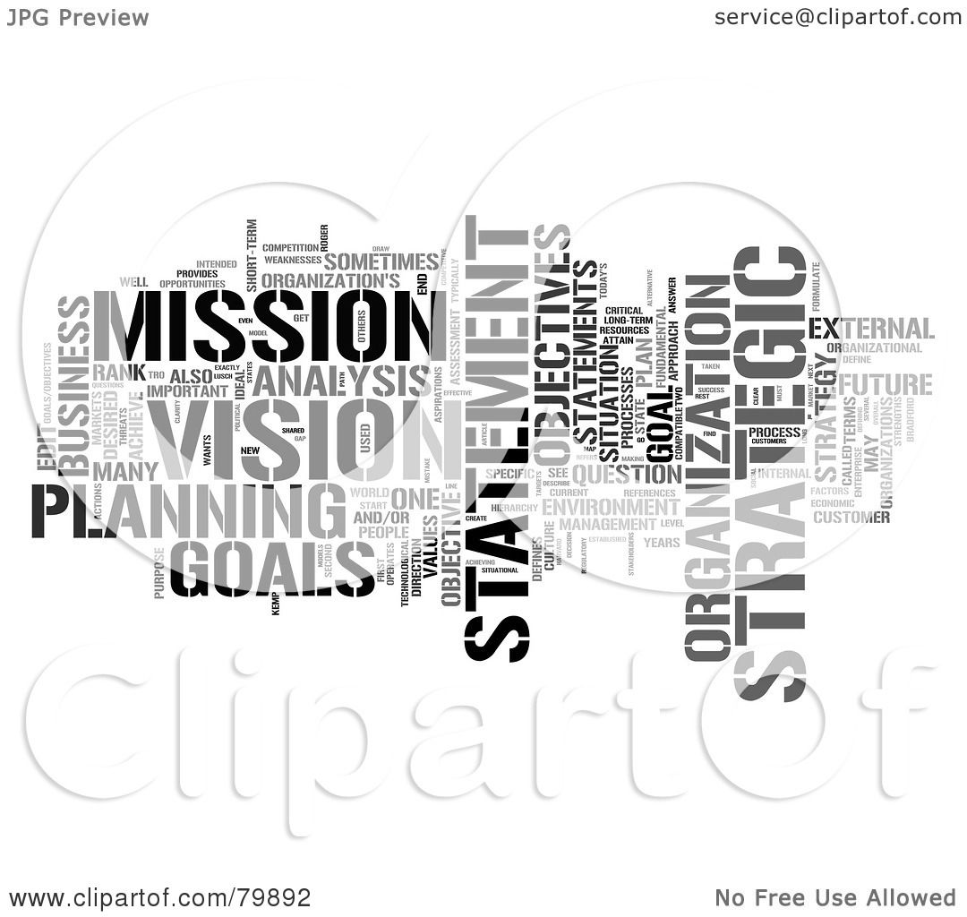 Royalty-Free (RF) Stock Illustration of a Collage Of Words