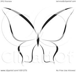 butterfly clip vector illustration clipart royalty elena background regarding notes