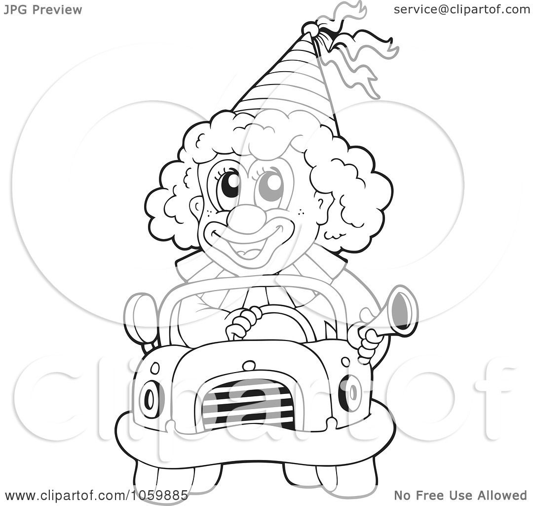 M Gangster Drawings Clowns Coloring Coloring Pages
