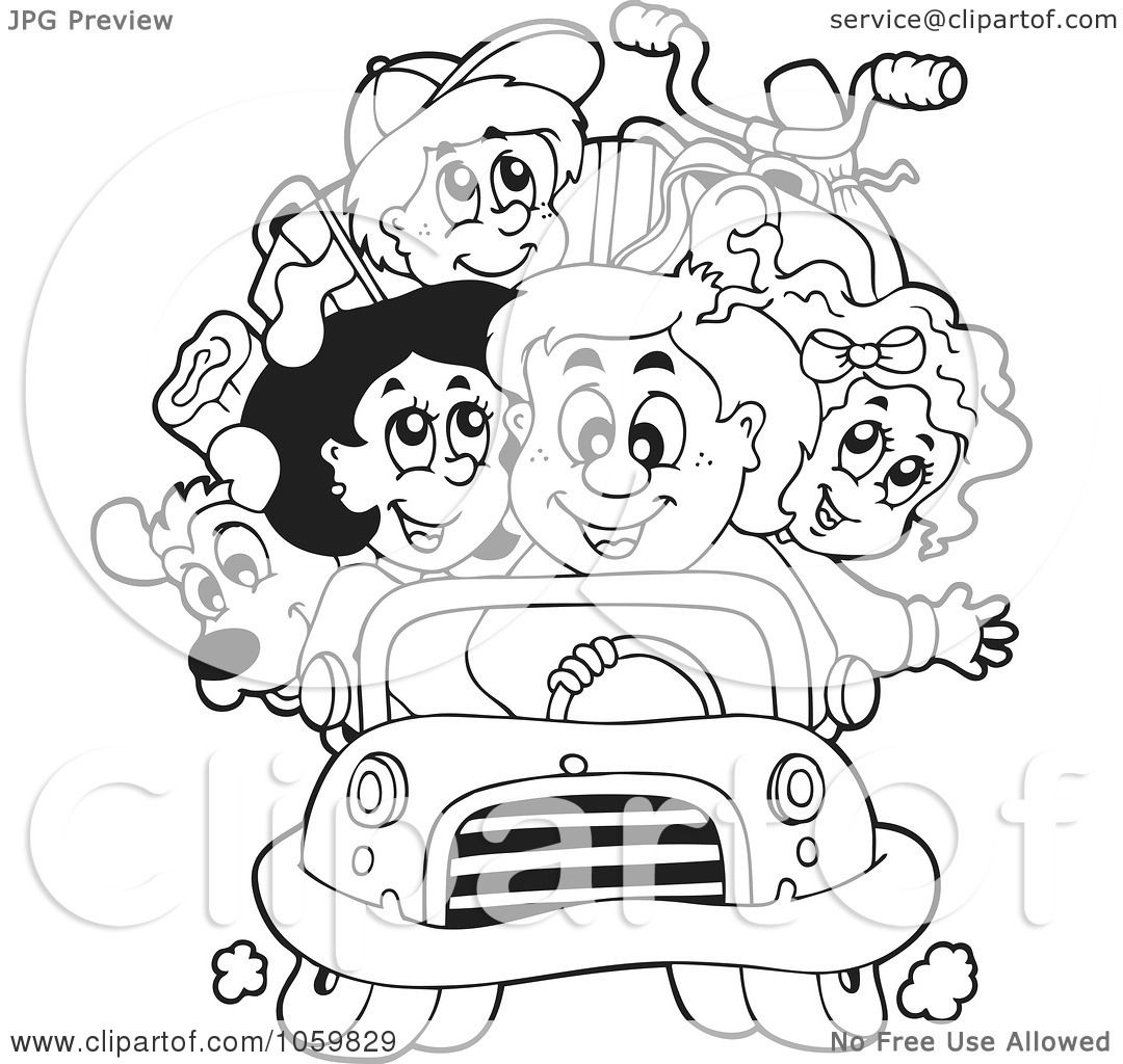 Free field trip coloring pages