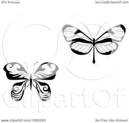 butterfly illustration collage vector digital clip royalty logos tradition sm clipart copyright seamartini