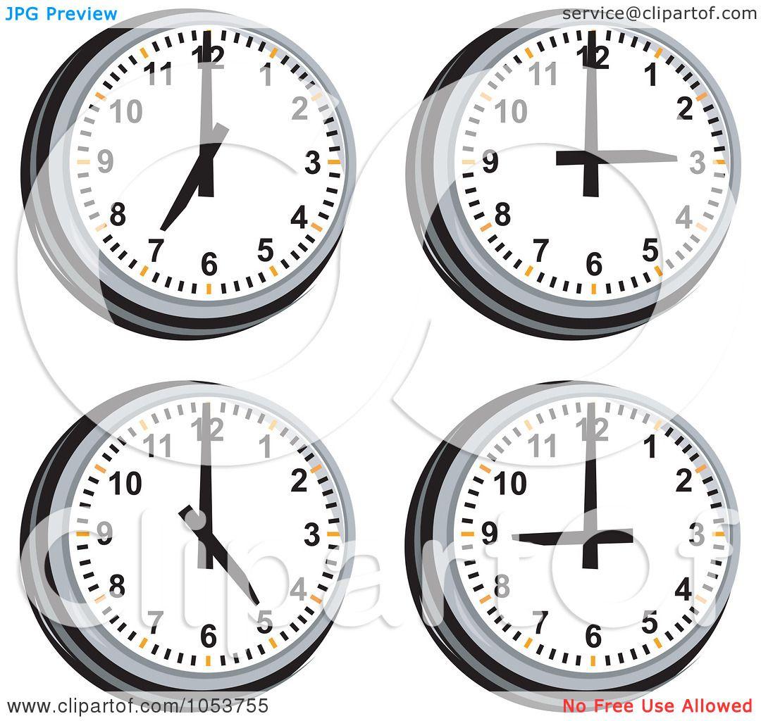 Clipart Of Clock