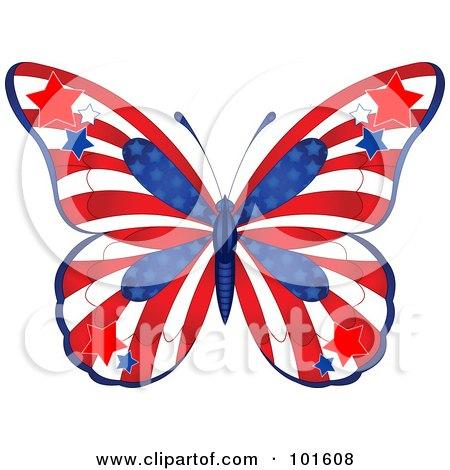cartoon of cute butterfly