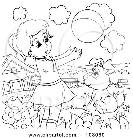 Preschool Coloring Sheets: Coloring Pages Sheets Dogs