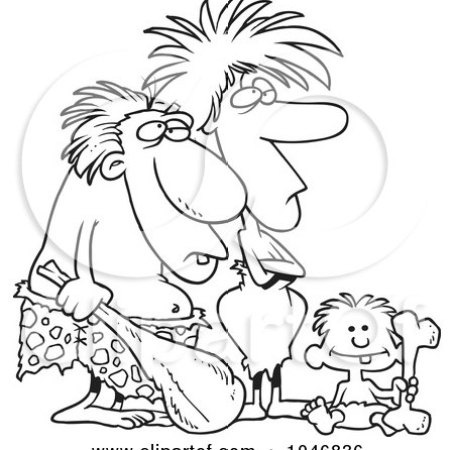 https://i0.wp.com/images.clipartof.com/small/1046836-Cartoon-Black-And-White-Outline-Design-Of-A-Caveman-Dad-Mom-And-Son.jpg?resize=454%2C450