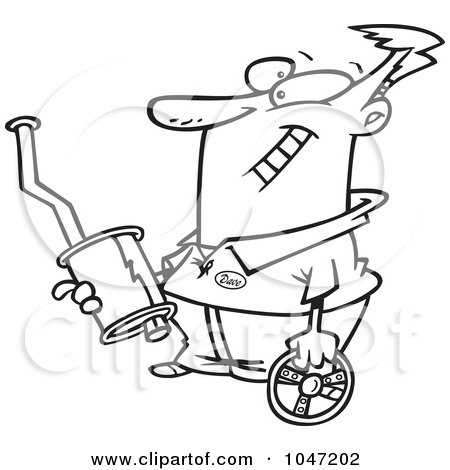 Royalty-Free (RF) Clipart of Spare Parts, Illustrations