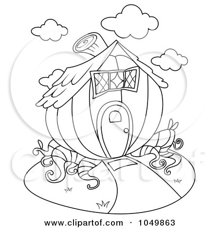 Clipart of a Hanging Wooden Home Sweet Home Sign with