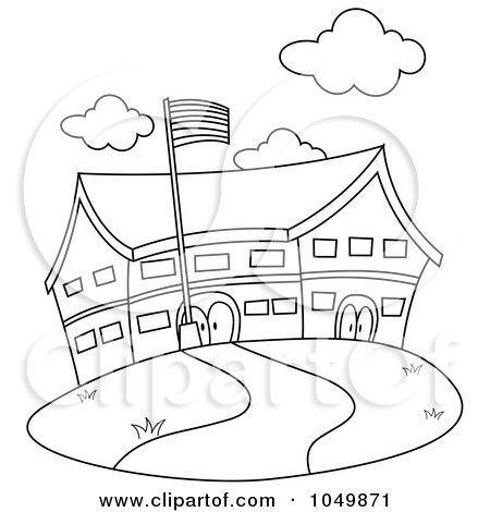 Royalty-Free (RF) Elementary School Clipart, Illustrations