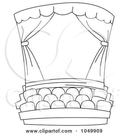 Royalty-Free (RF) Theatre Clipart, Illustrations, Vector