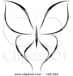 butterfly clipart clip illustration royalty butterflies vector elena flying background illustrations rf graphics clipartof