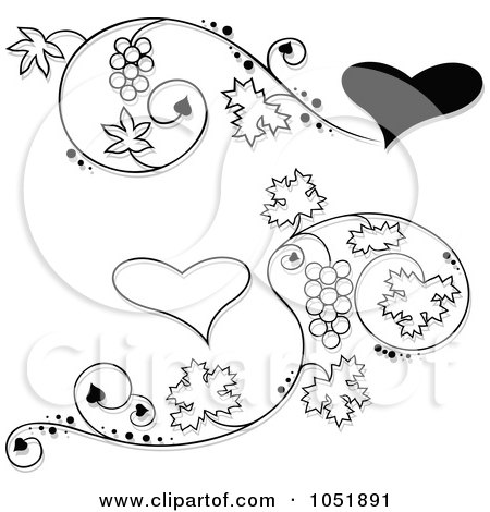 Royalty-Free (RF) Grape Vine Clipart, Illustrations