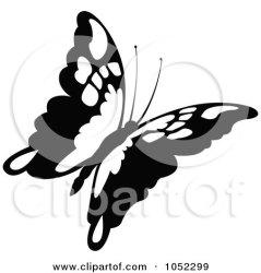 butterfly clipart flying royalty vector clip illustration rf illustrations dero graphics