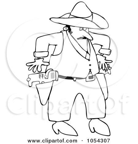 Royalty Free Cowboy Illustrations by djart Page 1
