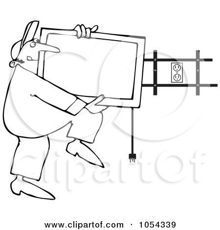 Royalty-Free (RF) Installation Clipart, Illustrations