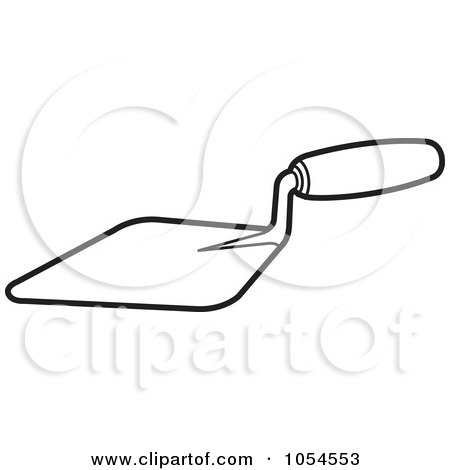 Royalty-Free (RF) Clipart of Trowels, Illustrations