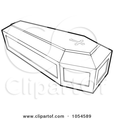 Royalty-Free Vector Clip Art Illustration of an Outlined