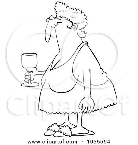 Royalty Free Stock Illustrations of Grandmas by djart Page 1