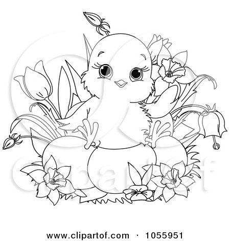 easter eggs coloring pages to print