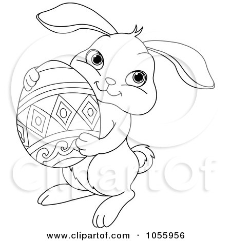Medical Tattoo: coloring pages for easter bunnies