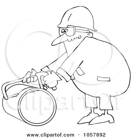 Royalty-Free (RF) Clipart Illustration of an Industrial