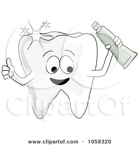 Royalty Free Dental Hygiene Illustrations by Pams Clipart