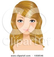 cartoon of beautiful freckled