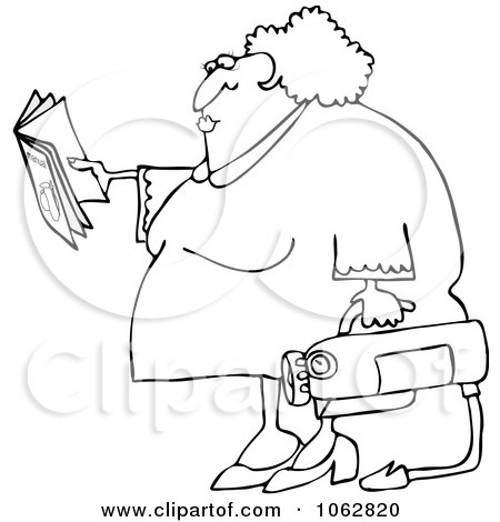Royalty-Free (RF) Clipart Illustration of a Worker Man