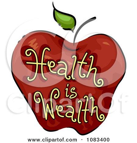 S Portfolio Bnpdesignstudio Illustration Health Is Wealth Apple Icon L