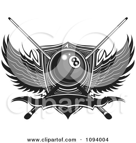 Royalty Free Stock Illustrations of Billiards by Chromaco