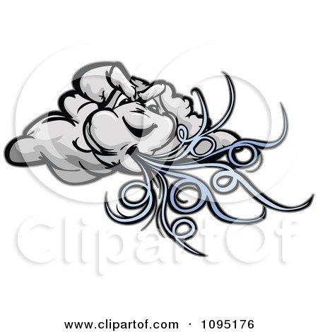RoyaltyFree RF Wind Clipart Illustrations Vector
