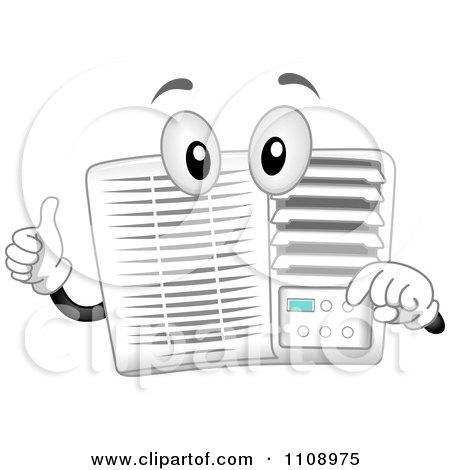 Air Conditioner Clip Art Logo