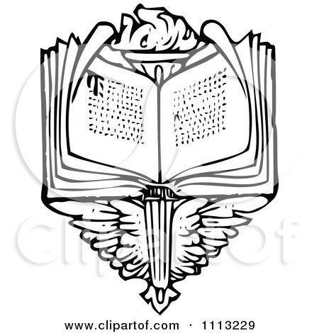 Royalty-Free (RF) Bible Clipart, Illustrations, Vector