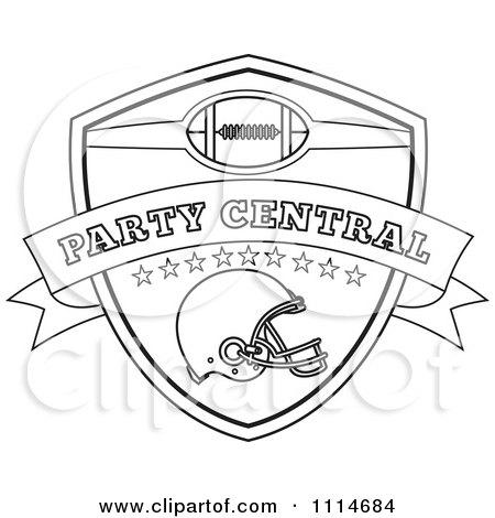 Royalty-Free (RF) Football Helmet Clipart, Illustrations