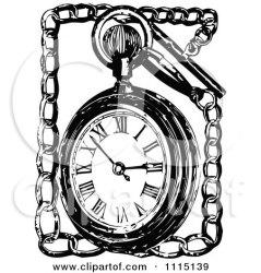 pocket chain illustration clipart vector royalty prawny background retro illustrations pendulum bow clipartof