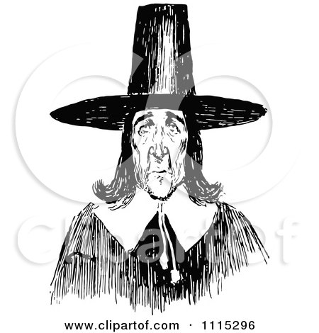 Royalty-Free (RF) Clipart of Puritans, Illustrations