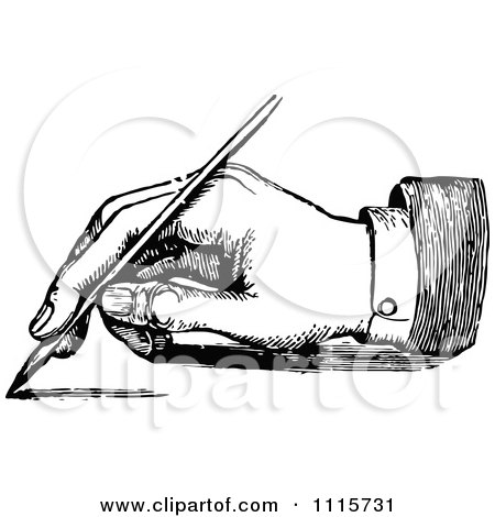 Royalty-Free (RF) Handwriting Clipart, Illustrations