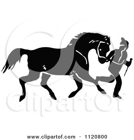 Royalty-Free (RF) Horse Training Clipart, Illustrations