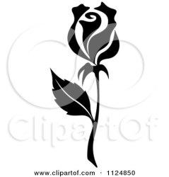 rose clipart flower vector illustration royalty graphic clip flowers roses illustrations graphics tradition sm seamartini regarding notes